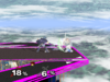 Marth Floor attack (front) SSBM