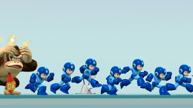 File:SSB4-Wii U Congratulations Mega Man All-Star.png