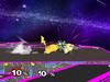 Pikachu Floor attack (front) SSBM