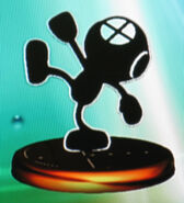 Mr. Game & Watch smash 2 trophy (SSBM)