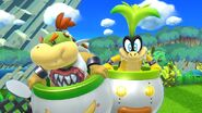 Bowser Jr and Iggy