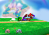 Luigi Down smash SSB