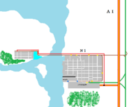 Eerste kaart van Libertas