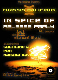 ISO Release Party Flyer