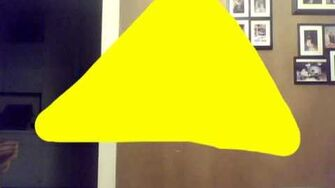 The drawing of the second triangle