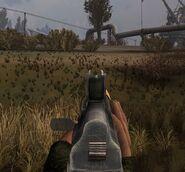 AKS-74U iron sights
