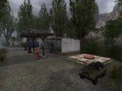 Darkscape Gas Station