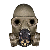 Cop icon gas mask