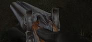 Sawn off shotgun CoP