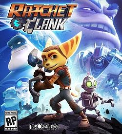 Ratchet and Clank cover