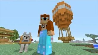 Minecraft Xbox - Hot Air Balloon -199-