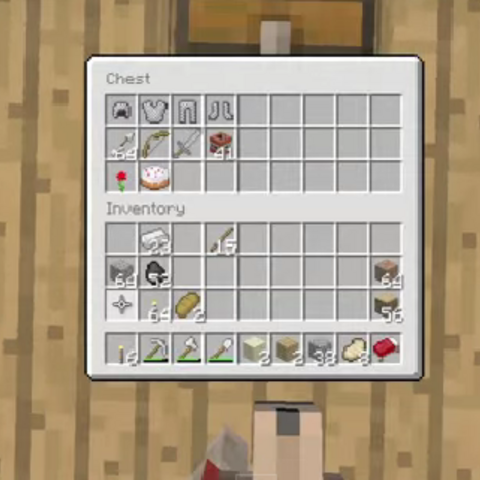 Items inside of the Emergency Chest.