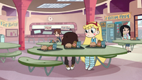 S2E26 Marco and Star in the school cafeteria