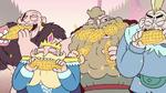 S2E15 King Butterfly and Johansen gobbling corn
