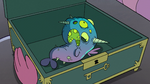 S2E1 Tiny deformed narwhal in a box
