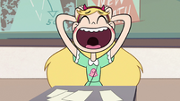 S2E32 Star Butterfly laughing at Janna's joke