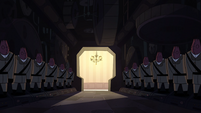 St. Olga's RSWP background - Hallway of guards