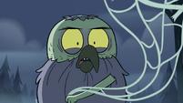 S2E2 Ludo brandishes a spider web