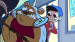 S1e1 marco takes down a bear