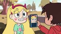 S2E37 Star Butterfly appears in front of Marco Diaz