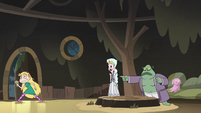 S3E5 Buff Frog reveals Star Butterfly to her mother
