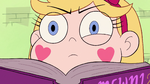 S2E3 Star Butterfly's eye twitches