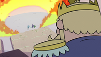 S2E12 King Butterfly sees monsters surrounded by fire