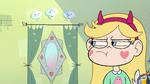 S2E23 Star Butterfly glaring at her interdimensional mirror