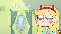 S2E23 Star Butterfly glaring at her interdimensional mirror
