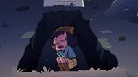 S2E27 Janna sleeping in an open grave