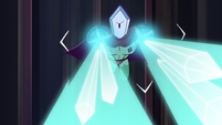 S2E41 Rhombulus firing crystallizing beams