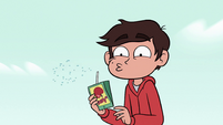 S2E6 Marco Diaz does a spit-take