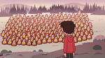 S2E31 Marco looking at hundreds of Hekapoos