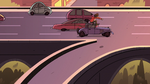 S2E5 Marco follows Star into highway traffic