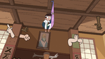 S1E5 Monster arm and Marco hanging from ceiling