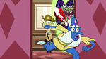 S2E25 Glossaryck jumps out of the elevator