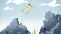 S2E10 Mountain goat leaping across the mountain