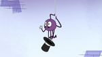 S2E22 Spider With a Top Hat says goodnight to Narwhal