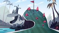 Royal Pain background - Echo Creek mini-golf 2