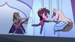 S2E40 Star Butterfly and Marco puppets join hands