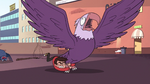 S2E14 Marco Diaz grabs giant eagle by the legs