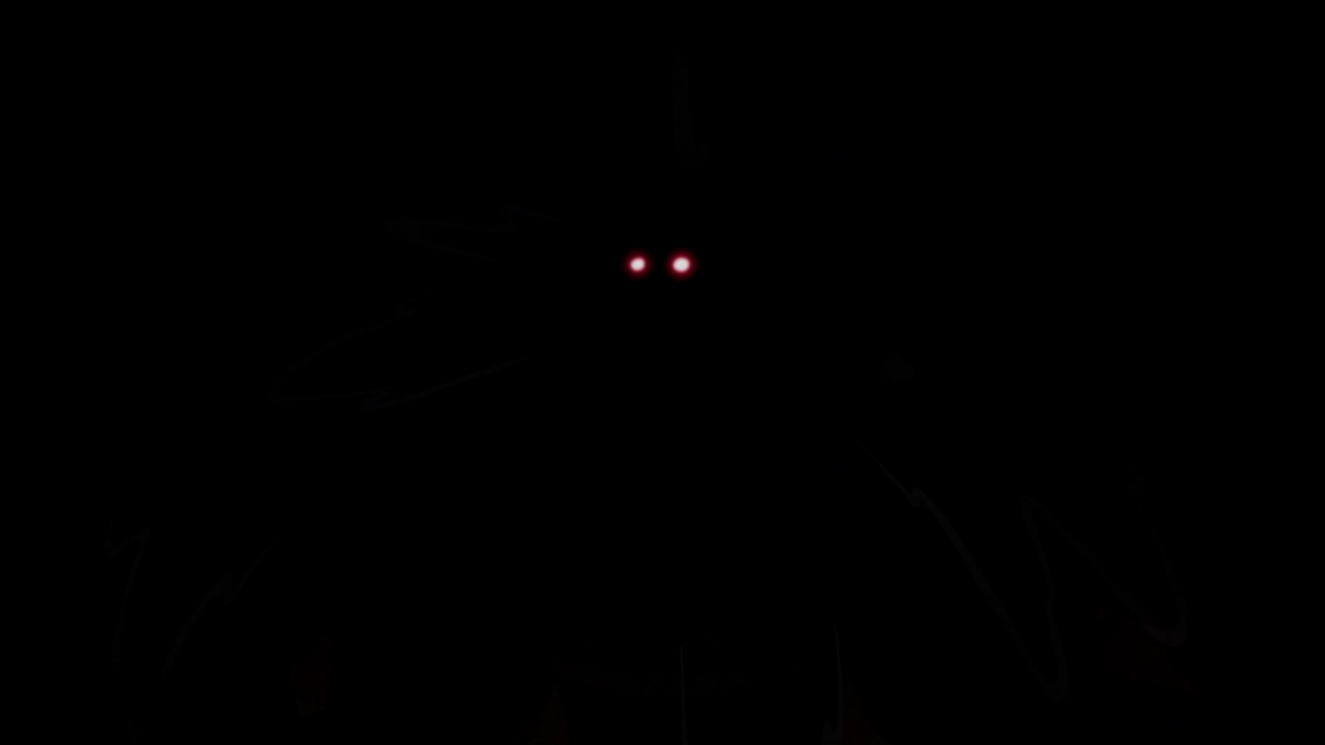 Image - S2E21 Red eyes glowing in the pitch black shadows ...
