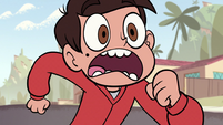 S1E7 Marco about to run into STOP sign