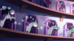 S2E22 Warnicorns brightened up by Top Hat's bubbles