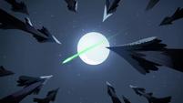 S2E2 Shooting star streaks through the sky