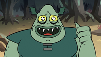 S2E12 Buff Frog asking for a thumby-bumpy