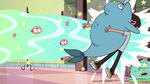 S2E23 Marco Diaz gets blasted with a narwhal