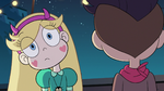 S2E41 Star Butterfly looking behind Oskar