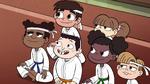 S2E37 Marco and students listen to their sensei