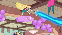 S1E18 Star Butterfly purging the party